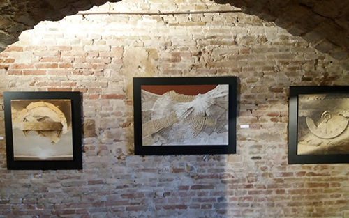 """Divagazioni"" (Digressions): international art exhibition"