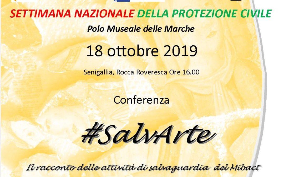 Settimana Nazionale della Protezione Civile 2019 – SalvArte