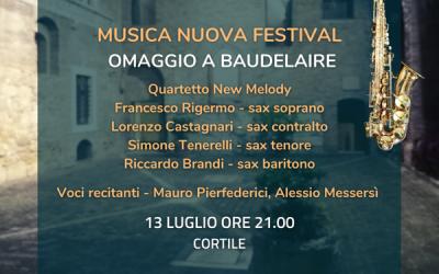 Musica Nuova Festival 13 luglio